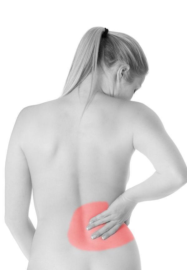 Colici ?i dureri de spate inferioare